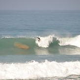 perfect wave at spiders, Banana Point