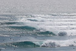 Kirra pumping  photo