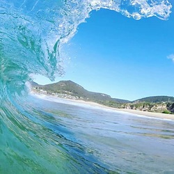 Stanwell Park on a clear day! photo