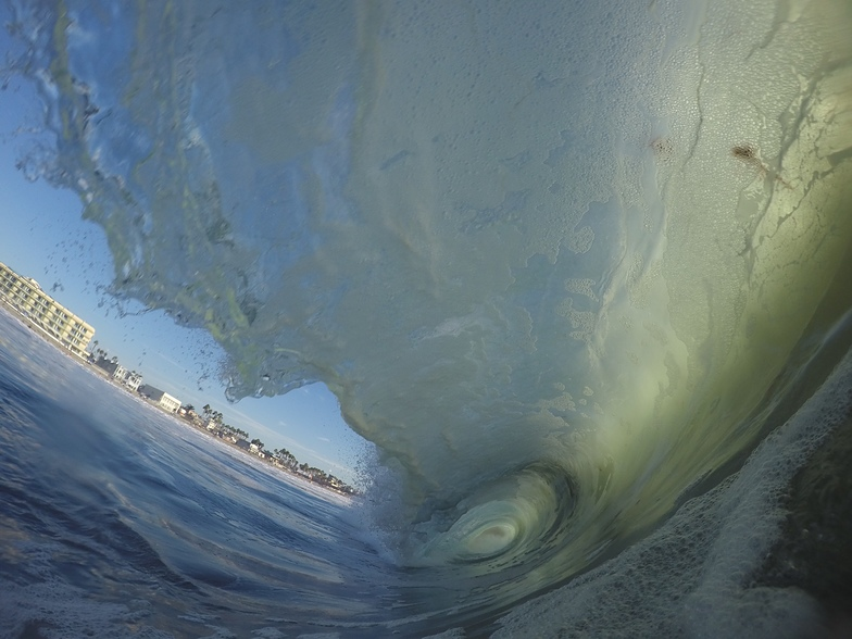 JD Arendt From inside the wave, Imperial Beach