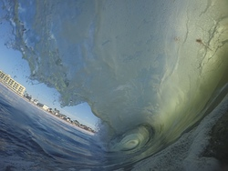 JD Arendt From inside the wave, Imperial Beach photo
