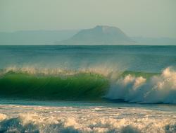 Surfs up, Maketu Bar photo
