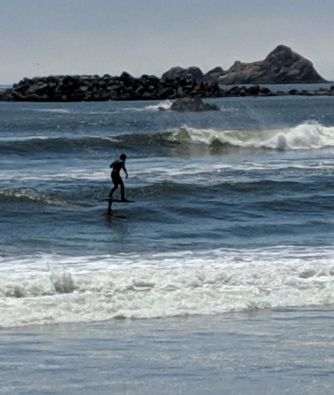 Port Orford surf break
