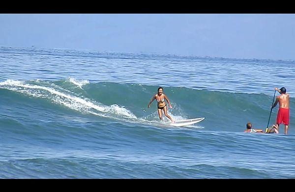 The Cove surf break