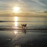 Sunset @ Ogmore-By Sea, Ogmore-by-Sea
