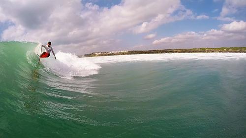 V2 off the lip, Sea Cliff