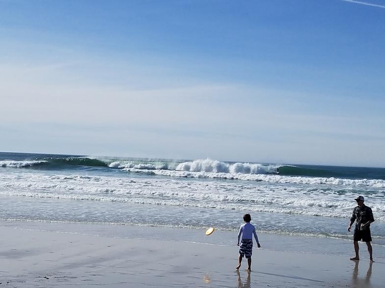 Summer in Winter, Carmel Beach