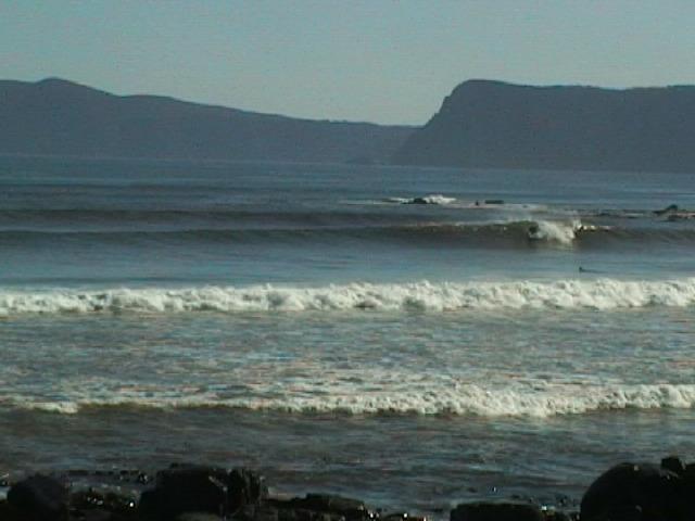 Bruny Island - Cloudy Bay surf break