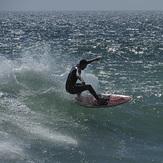 Nice wave!, Royal Palms State Beach