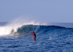 Early morning light winds, Ouano Lefts photo