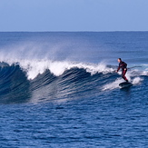 Light offshore, Ouano Lefts