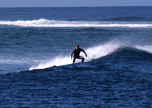 Last wave of the session., Ouano Lefts