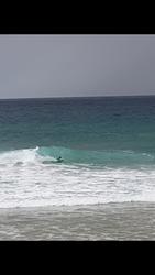 Javier bodyboard, Playa de Andrin photo