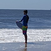 Skim boarding, Jones Beach State Park