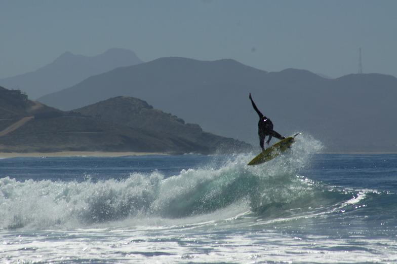 San Pedrito (Todos Santos) surf break