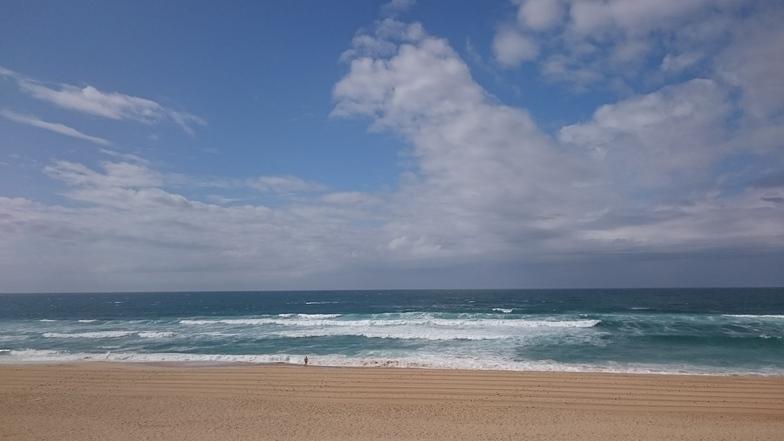Arna Plage surf break
