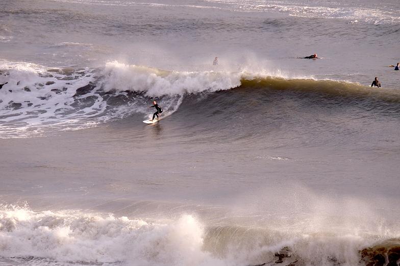 Hurricane Lorenzo Swell at Fall Bay