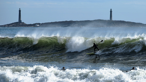Big Surf today!, Long Beach