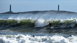 Big Surf today!, Long Beach photo