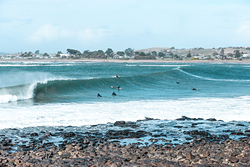 Surf the Mersey River Tas April 14th 2018, Devonport Rivermouth photo