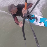 Lancing Kitesurf School, strapless surfboard training, South Lancing