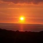 Sun setting, Putsborough