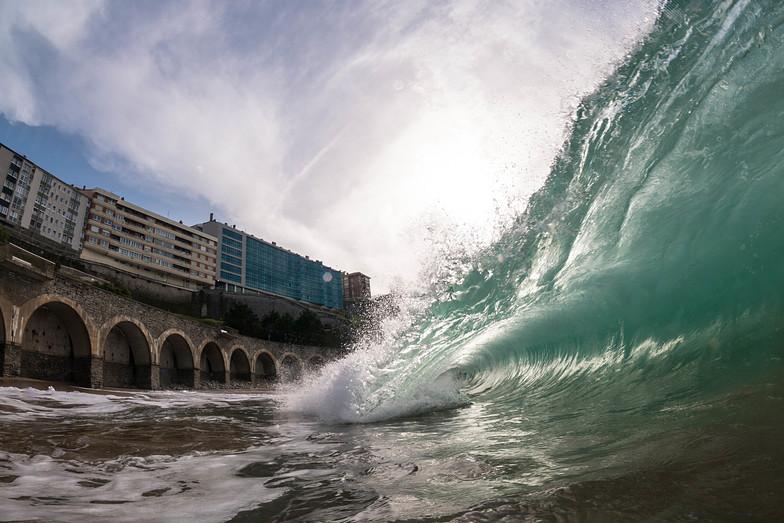 Playa de Gaztetape surf break