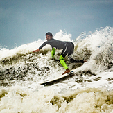 Carving it up, Scheveningen Pier
