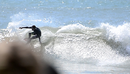 No swell but good waves, Cardiel (Mar del Plata)
