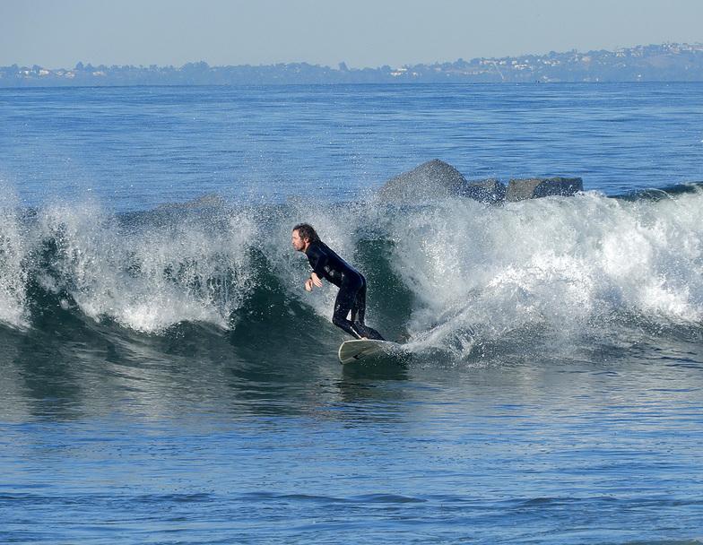 Venice Breakwater surf break