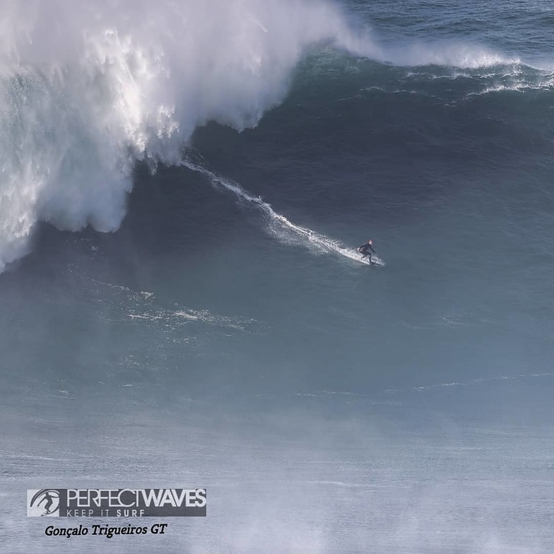 Nazare surf break