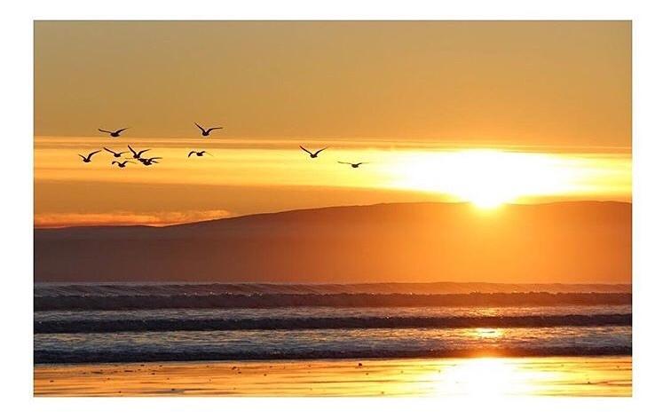 Oreti Sunset, Oreti Beach