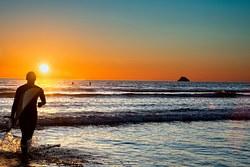 calm sunsets at moonstone, Moonstone Beach photo