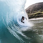 Barreled Shaka, Sandy Beach