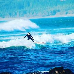 El motivao disfrutando su pasión.., La Puntilla - Pichilemu photo