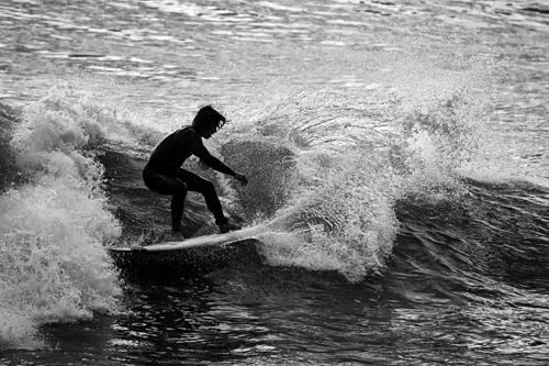 Cutback Silhouette #1, Royal Palms State Beach