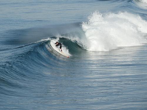 Surfing North Hermosa Beach Pier @RedondoSurf, Hermosa Beach and Pier
