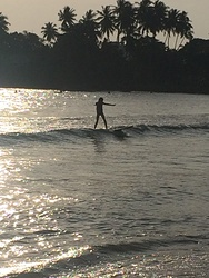 New Years Day surfing, Unawatuna photo