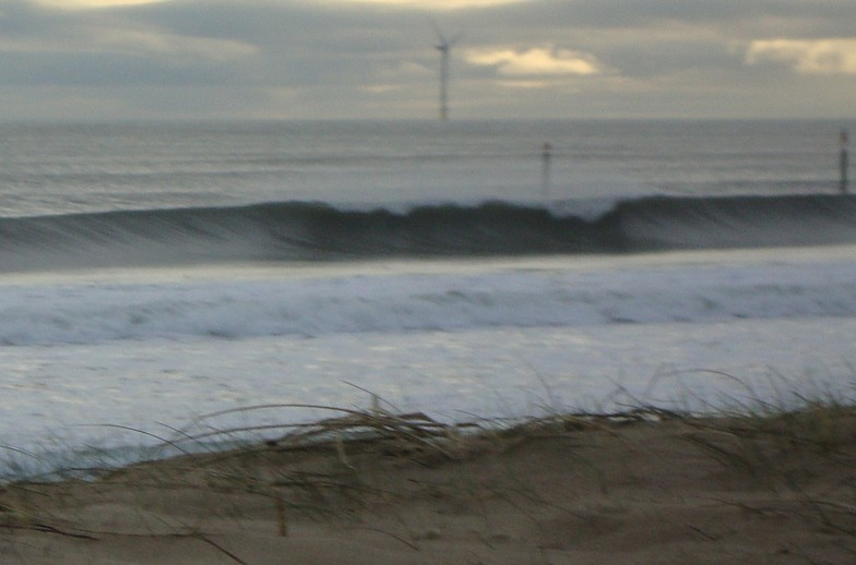 Wansbeck Estuary surf break