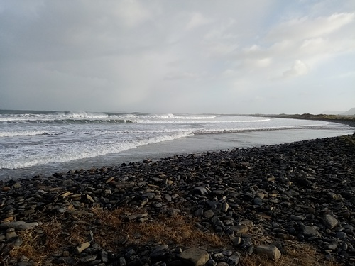 After storm, Mullaghmore