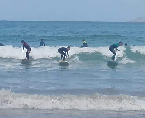 Escuela surf de Cadavedo, Playa de Cadavedo