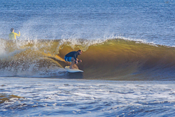 Lil inlet barrel, New Smyrna Inlet photo