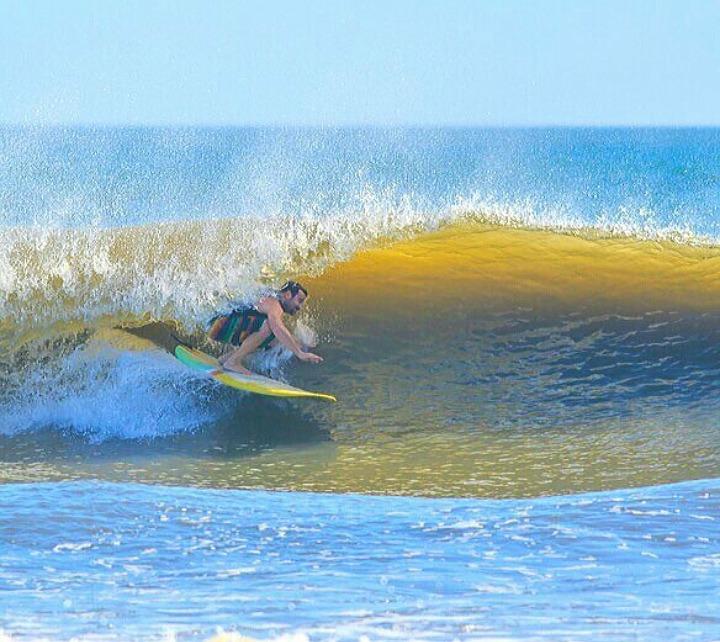 New Smyrna Inlet surf break