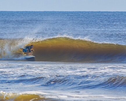 Clean tube, New Smyrna Inlet