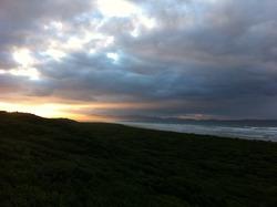 January sunrise, Sandy Point photo