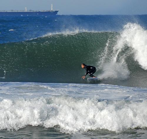 Oh, yeah!, El Porto Beach