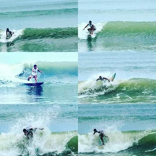 Surfista manabita Javier Zambrano, Punta Ballena