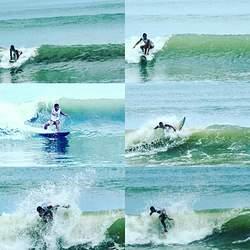 Surfista manabita Javier Zambrano, Punta Ballena photo