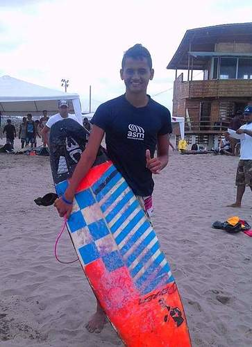 Competitor Jama Surf TEAM, El Murcielago