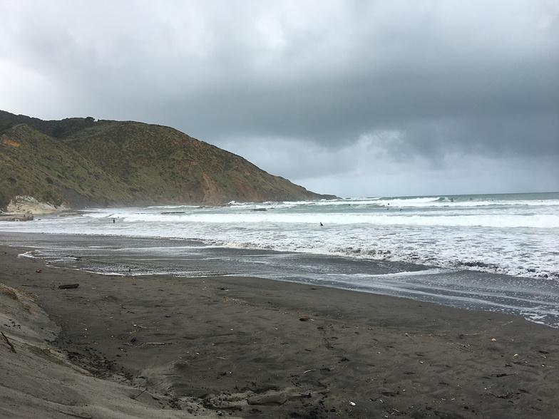10am, Port Waikato-Sunset beach